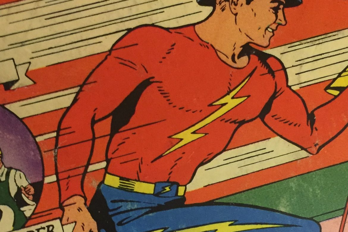 "Introducing….""THE FLASH!"""