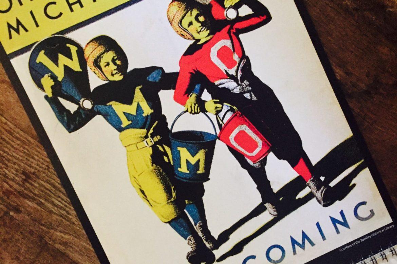 Today's TOP TEN College Football Teams TOP TEN Vintage Program Covers