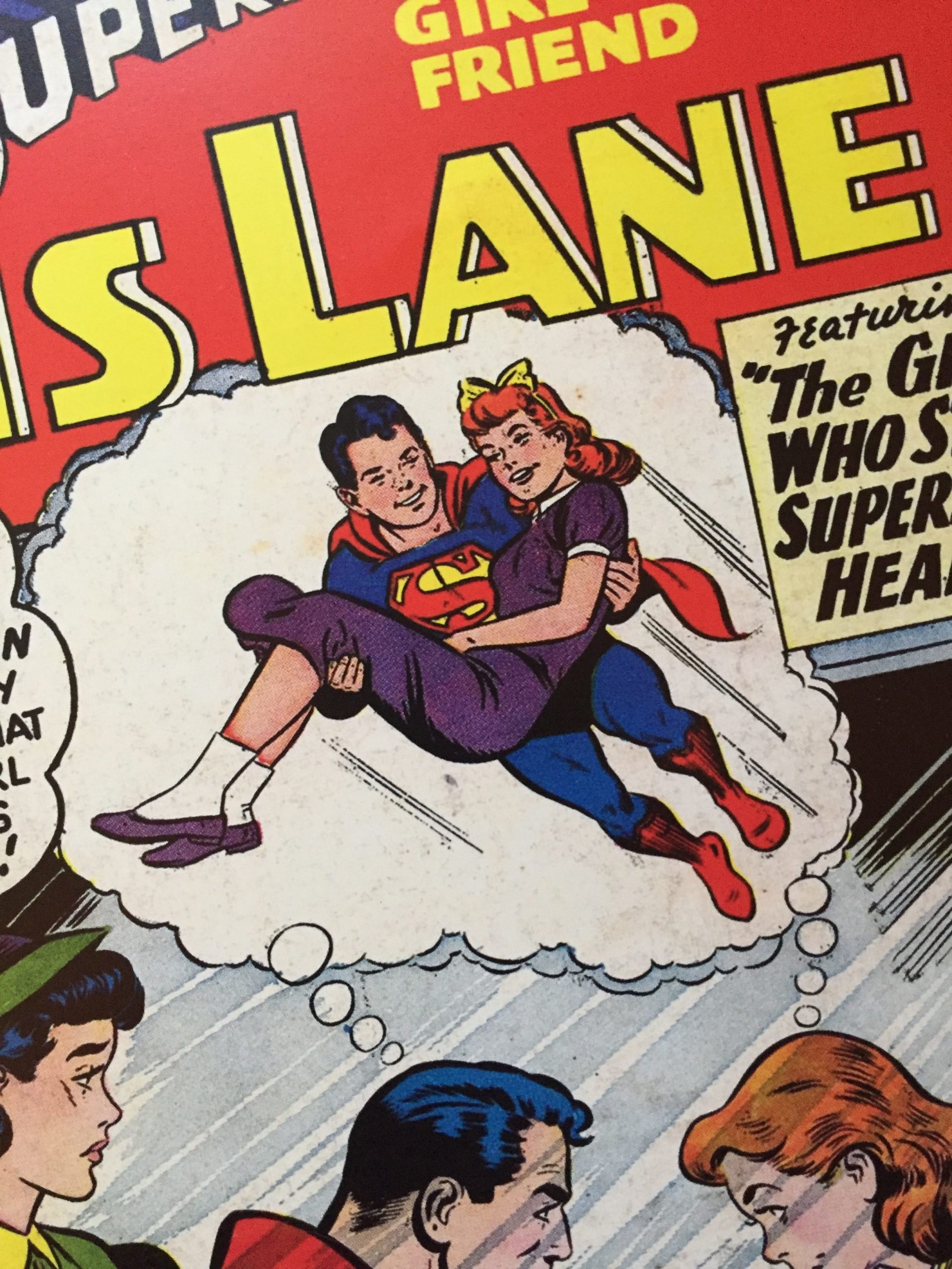 Love is in  the Air….  Superman & Lois Lane