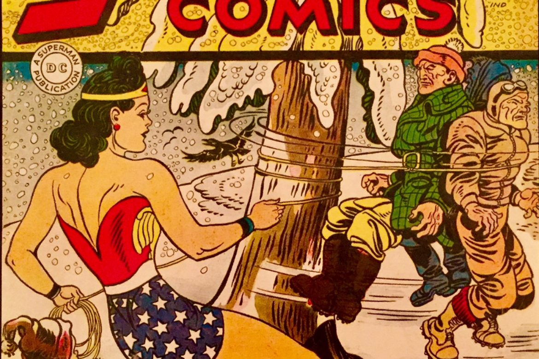 Walkin' in a Wonder Woman Winter Wonderland!