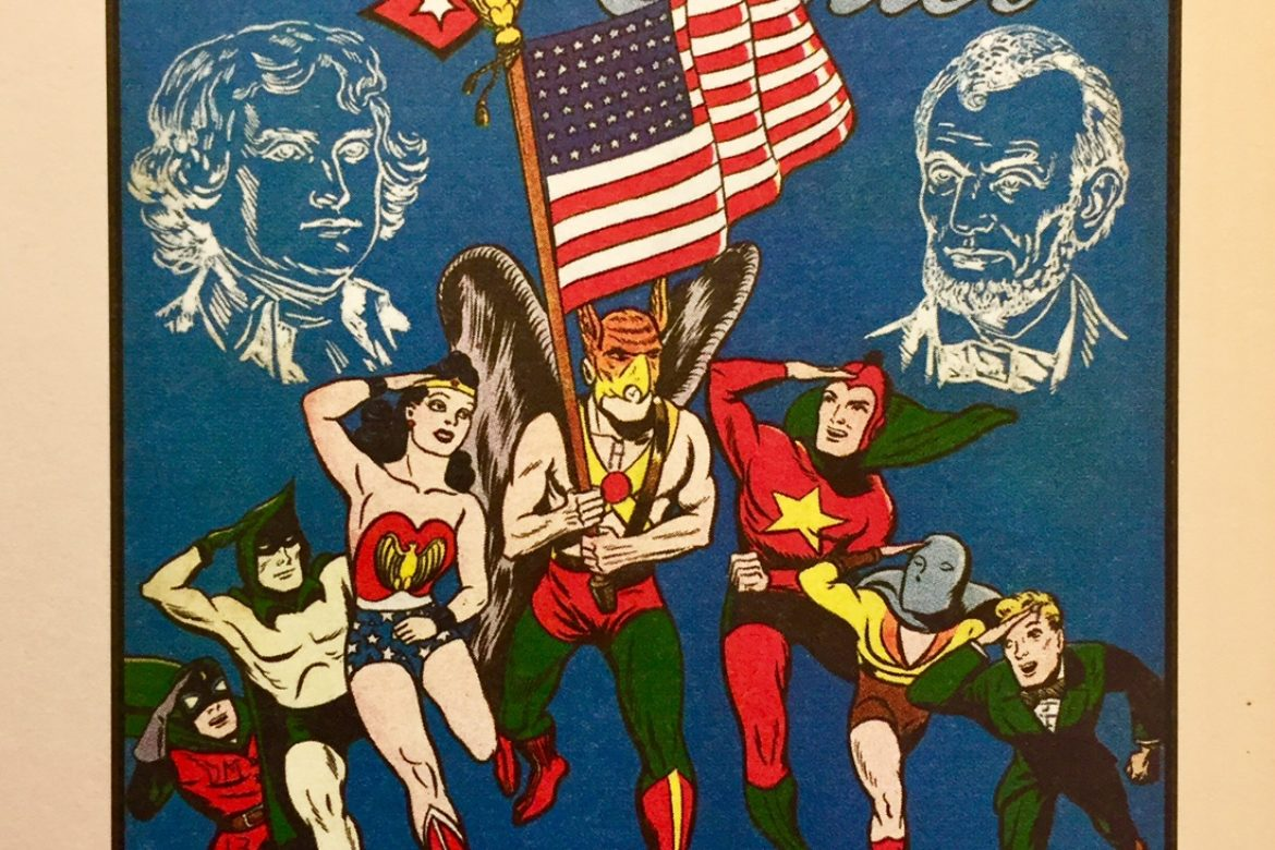 Justice Society of America: A Cure for the World!