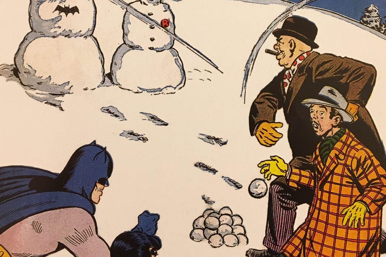 Batman and Robin vs. Abraham Lincoln and George Washington?!