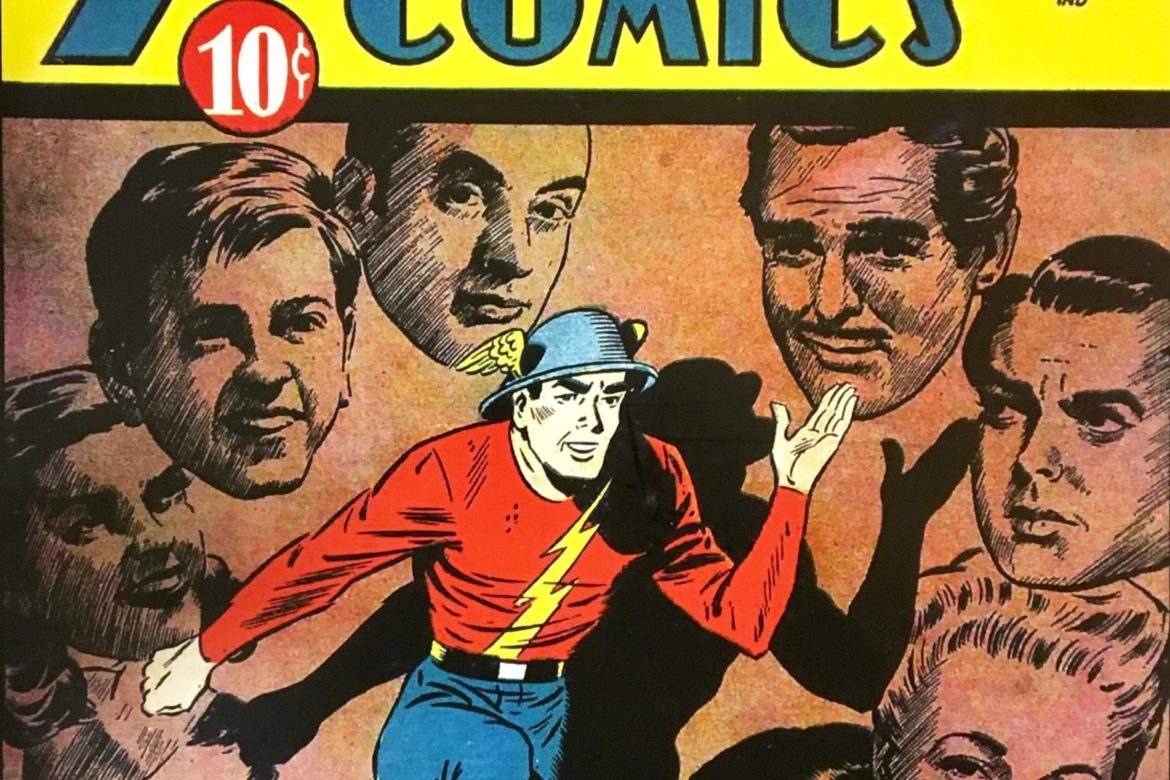 FLASHBACK – FRIDAY with who else?  THE FLASH!