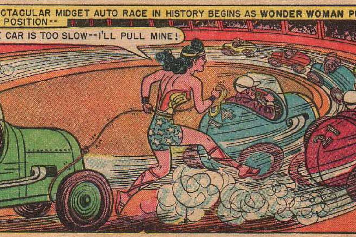 Wonder Woman's Thrill-A-Second-Adventure…..