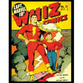 Whiz Comics Vol. 1 #22 11x14 Print