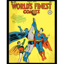 World's Finest Comics Vol. 1 #21 11x14 Print