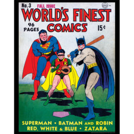 World's Finest Comics Vol. 1 #1 11x14 Print