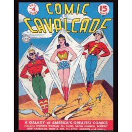 Comic Cavalcade 4 11x14 Print