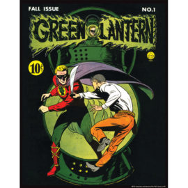 Green Lantern 1 11x14 Print