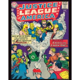 Justice League of America 21 11x14 Print