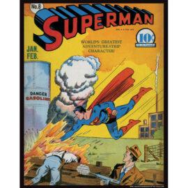 Superman 8 11x14 Print