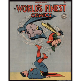 World's Finest Comics 33 11x14 Print