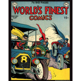 World's Finest Comics 50 11x14 Print