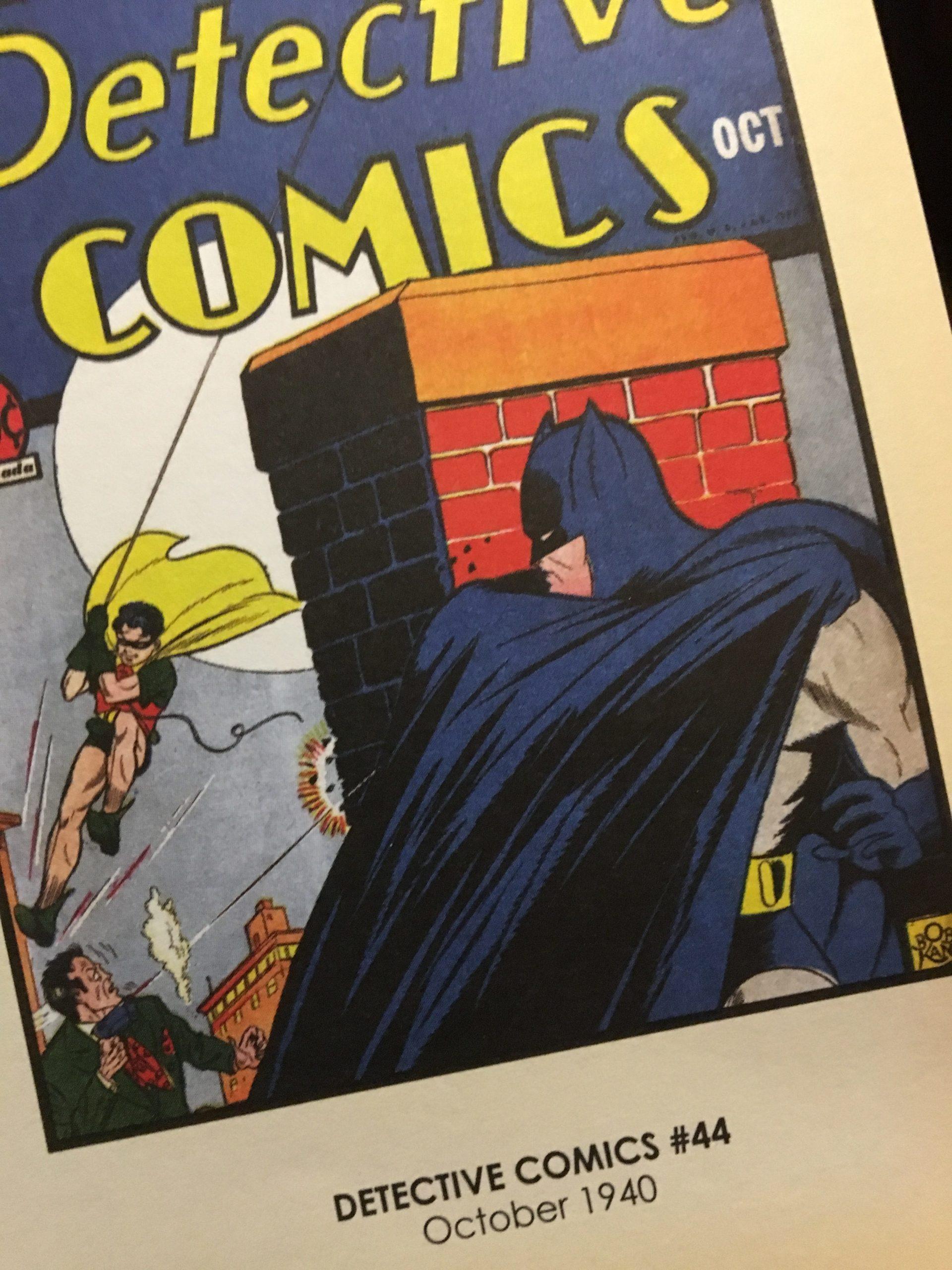 DETECTIVE COMICS #44, October 1940.
