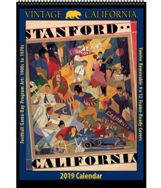 2019 Vintage California Golden Bears Football Calendar