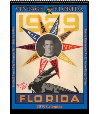 2019 Vintage Florida Gators Football Calendar