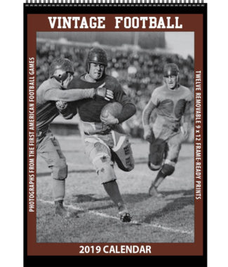 2019 Vintage Football Calendar