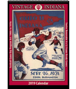 2019 Vintage Indiana Hoosiers Football Calendar