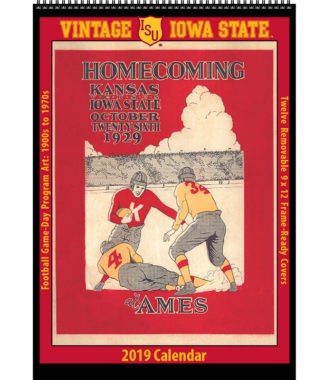 2019 Vintage Iowa State Cyclones Football Calendar