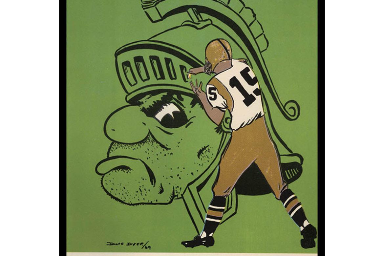 Sneak Peek:  Asgard Press Top 25 Vintage College Football Program Covers.