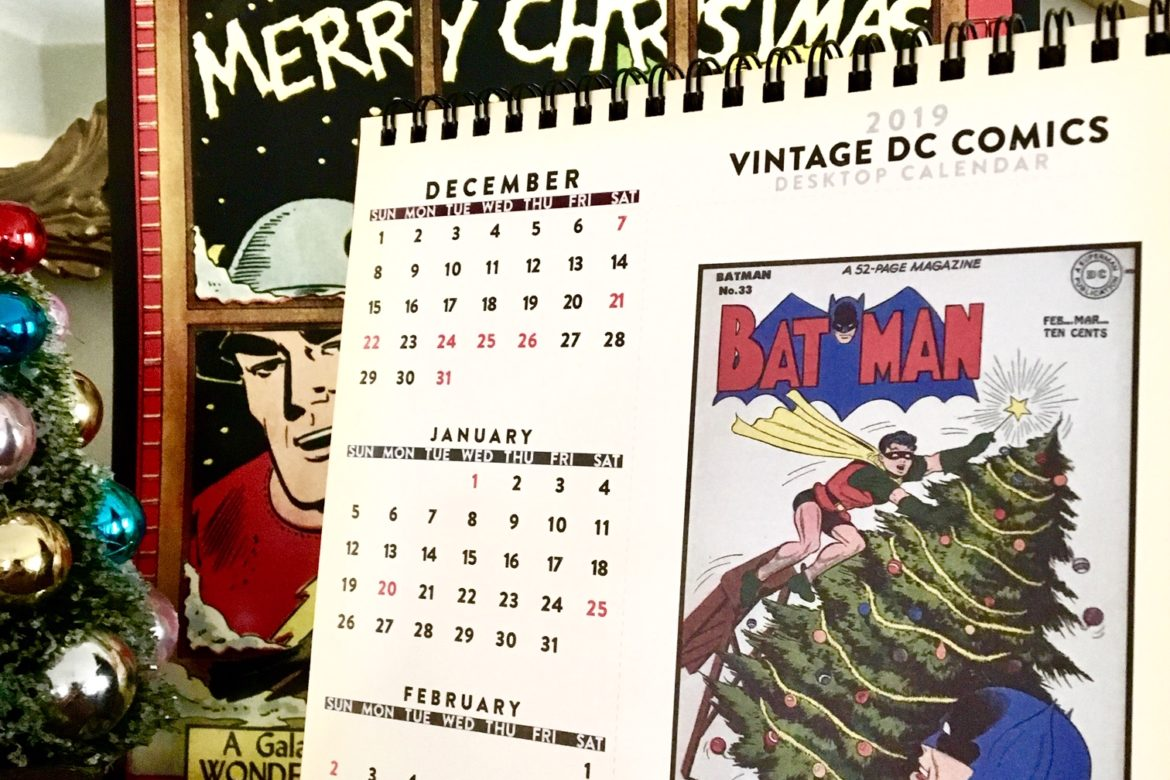 Deck the Halls with our DC Dynamic Duo Desktop!