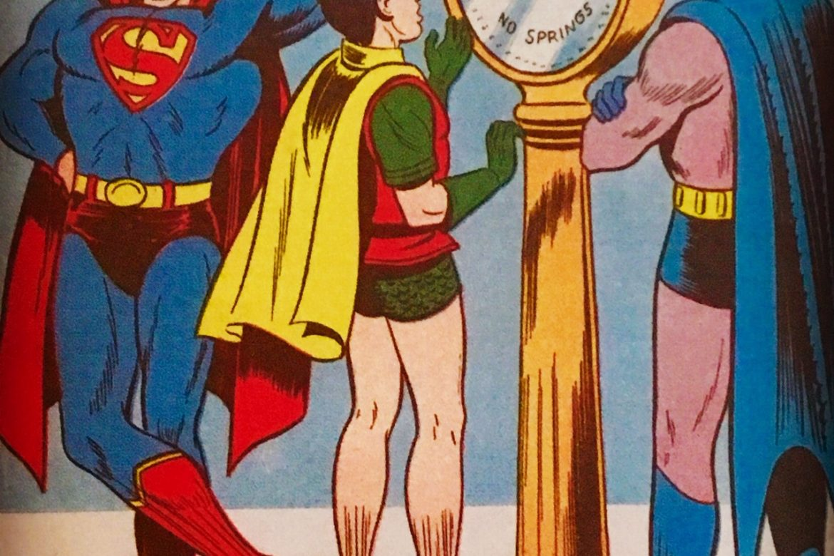 How's the New Year's Resolution going Robin?