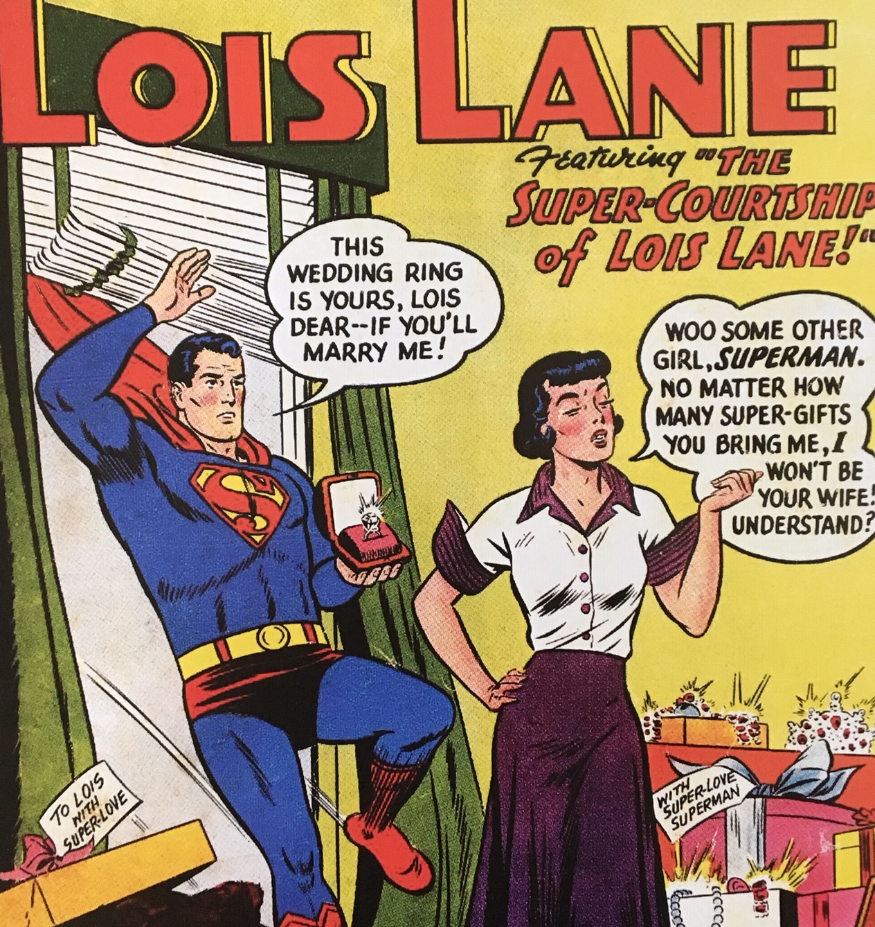 Trouble in Paradise, Superman?