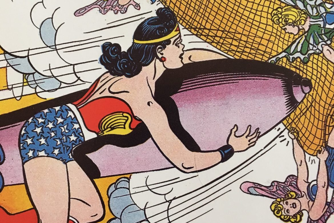 Wonder Woman and the Winged Maidens of Venus.