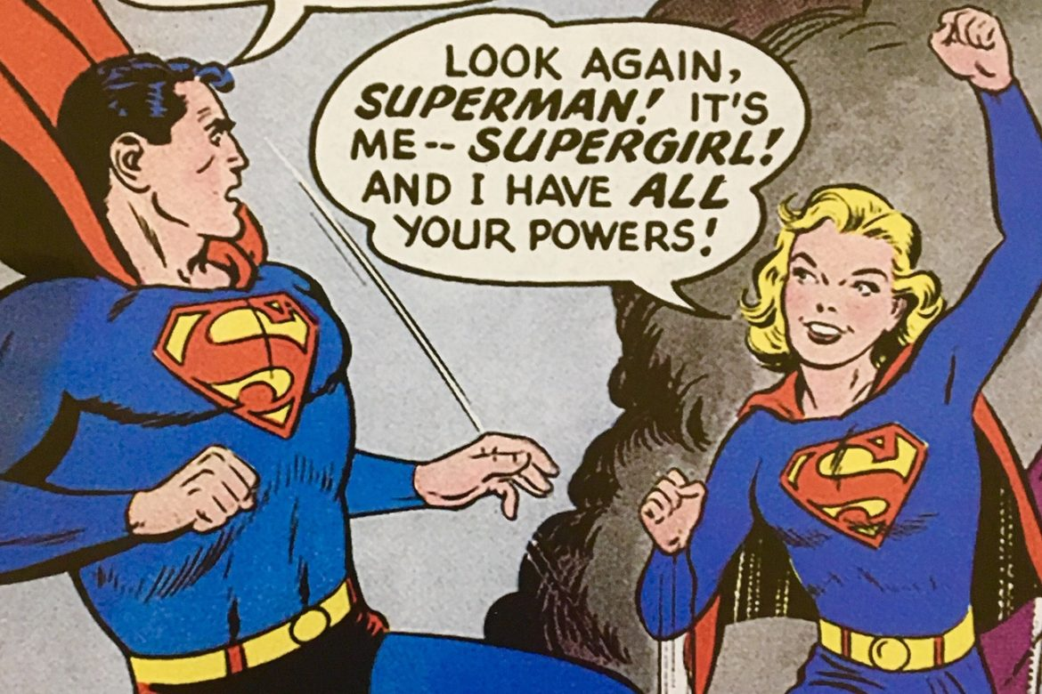Celebrate Women's History Month with SUPERGIRL!