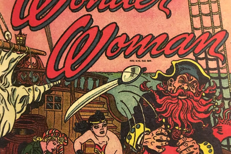 Wonder Woman VS. Red Beard The Pirate!
