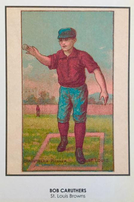 Vintage Baseball Card Art Did The Players Really Look Like