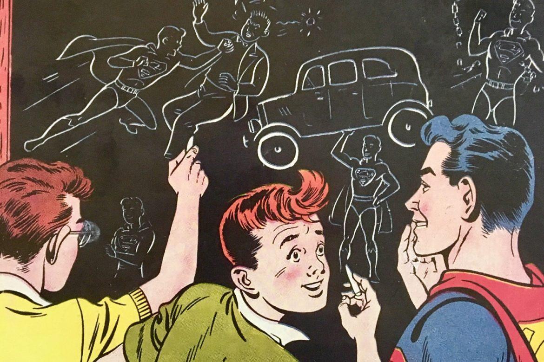 "The Boy of Steel ""Old School"" style!"