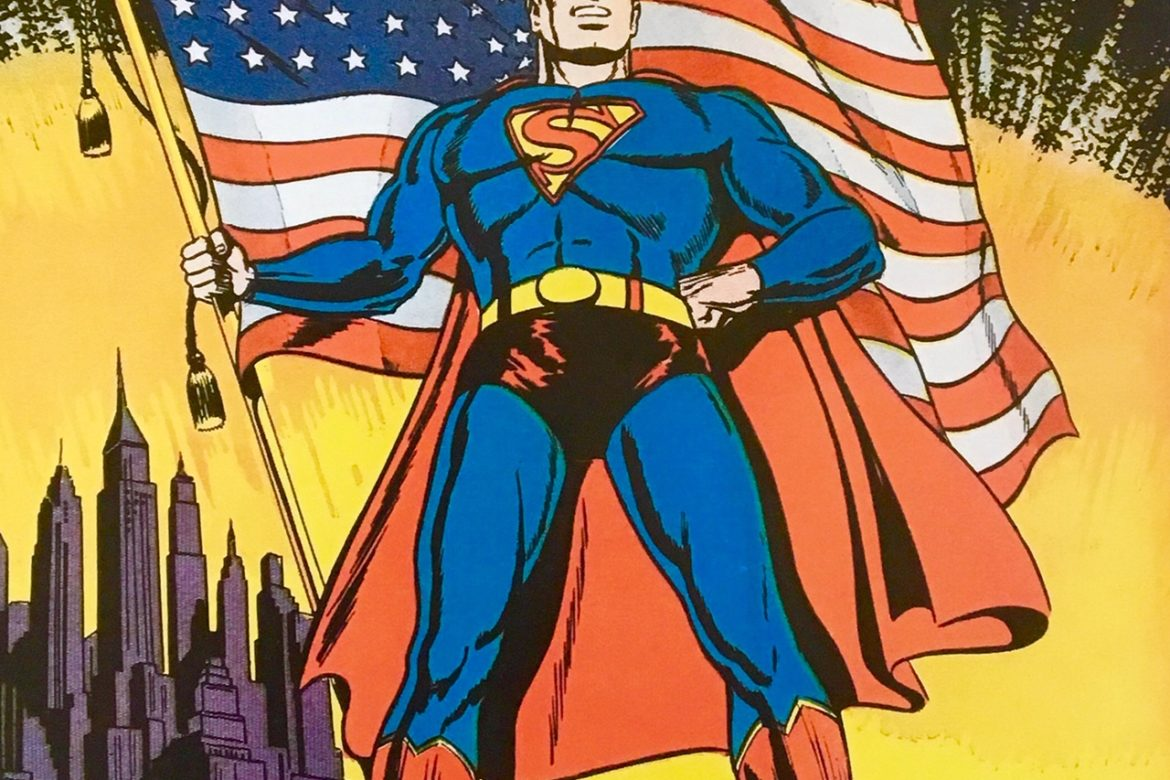 Fighting the never ending battle for Truth, Justice and the American Way!