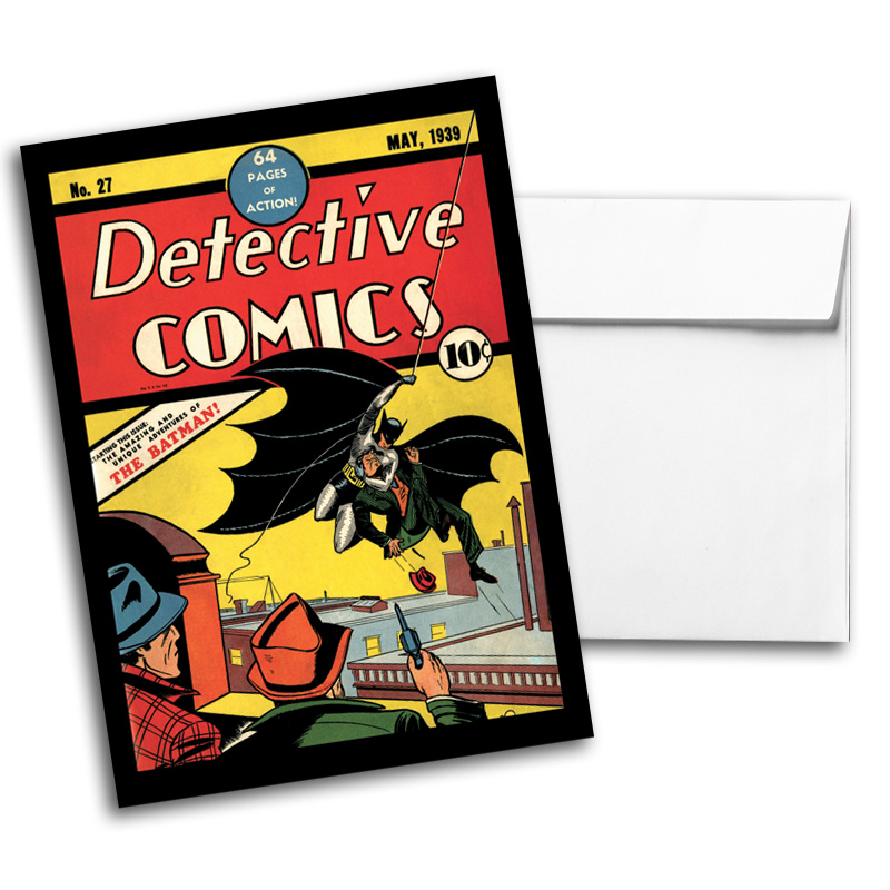 Vintage DC Comics Notecard Pack 1, Card 3