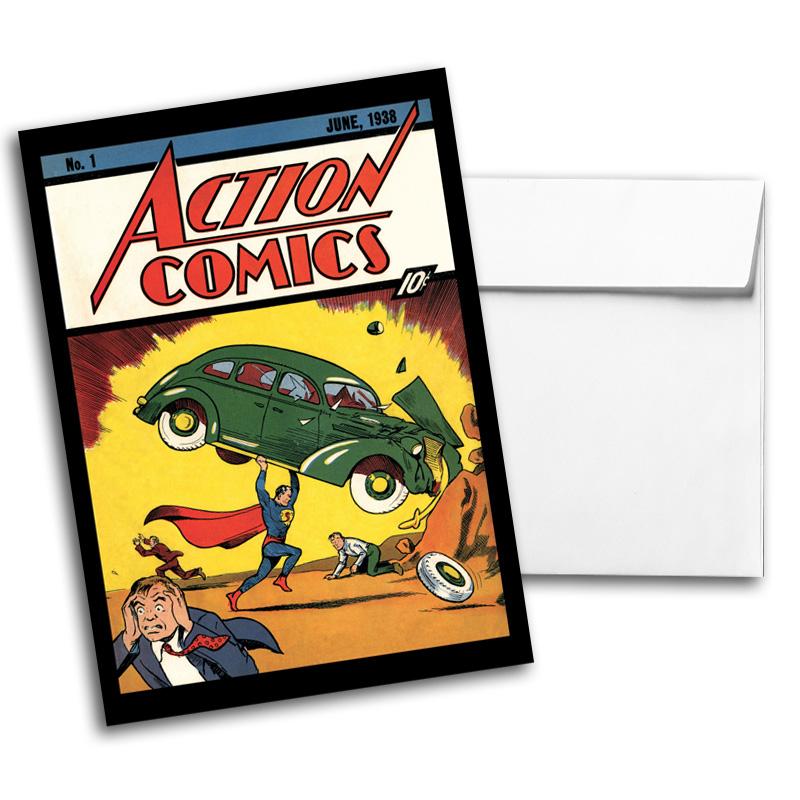 Vintage DC Comics Notecard Pack 1, Card 4