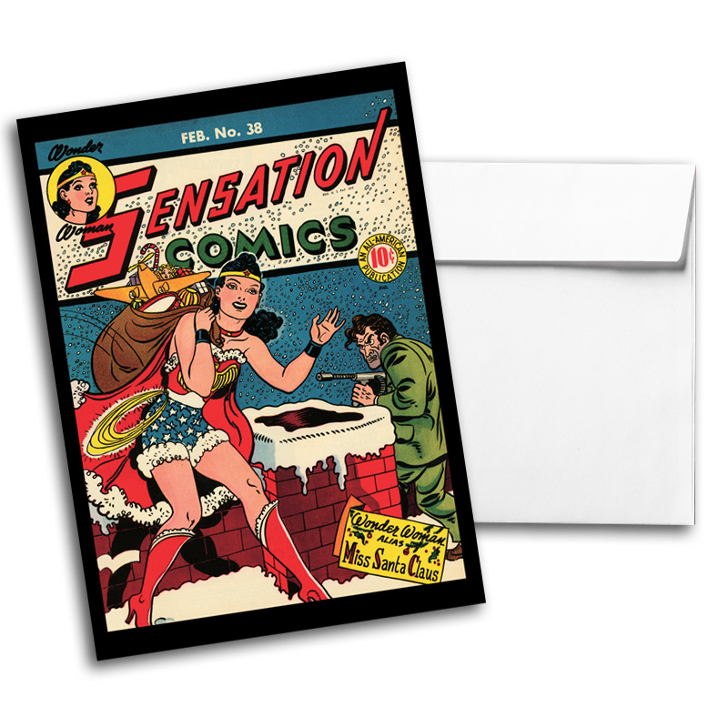 Vintage DC Comics Notecard Pack 2, Card 1