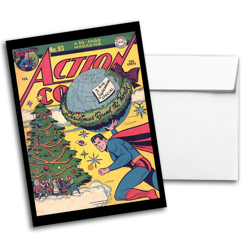 Vintage DC Comics Notecard Pack 2, Card 2