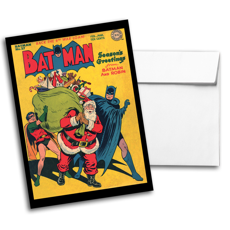 Vintage DC Comics Notecard Pack 2, Card 3