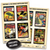 Vintage DC Comics Notecard Packs