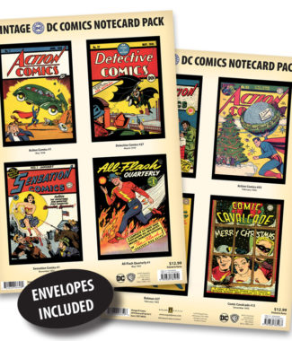 Vintage DC Comics Notecard Packs