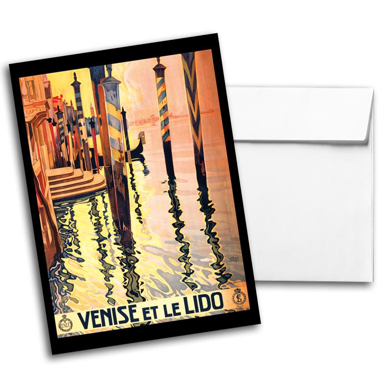 Vintage Travel & National Parks Notecard Set 1, Card 2