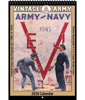 2020 Vintage Army Black Knights Football Calendar