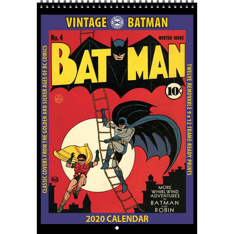 2020 Vintage Batman Calendar