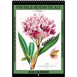 2020 Vintage Botanicals Calendar