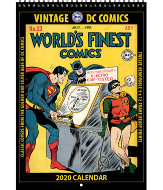 2020 Vintage DC Comics Calendar