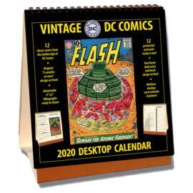 2020 Vintage DC Comics Desktop Calendar