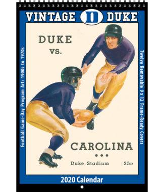 2020 Vintage Duke Blue Devils Football Calendar