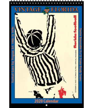 2020 Vintage Florida Gators Football Calendar
