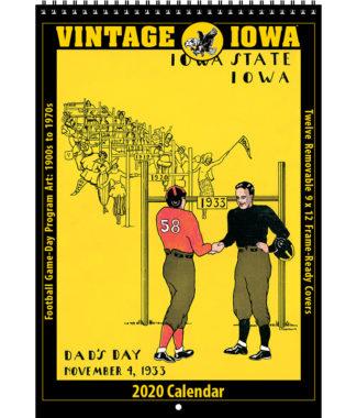 2020 Vintage Iowa Hawkeyes Football Calendar