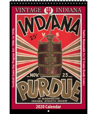 2020 Vintage Indiana Hoosiers Football Calendar